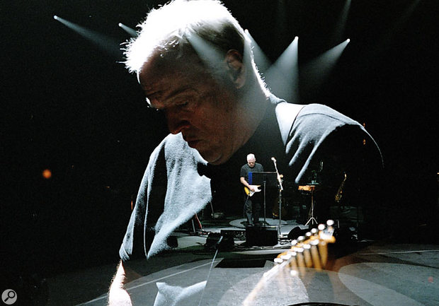 Recording David Gilmour's On An Island