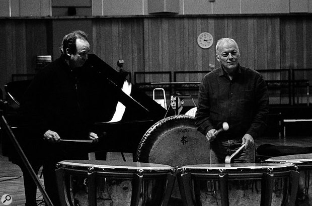 Abbey Road Studio One was used to track live band recordings of some of the songs on On An Island, but most of the resulting recordings were scrapped.