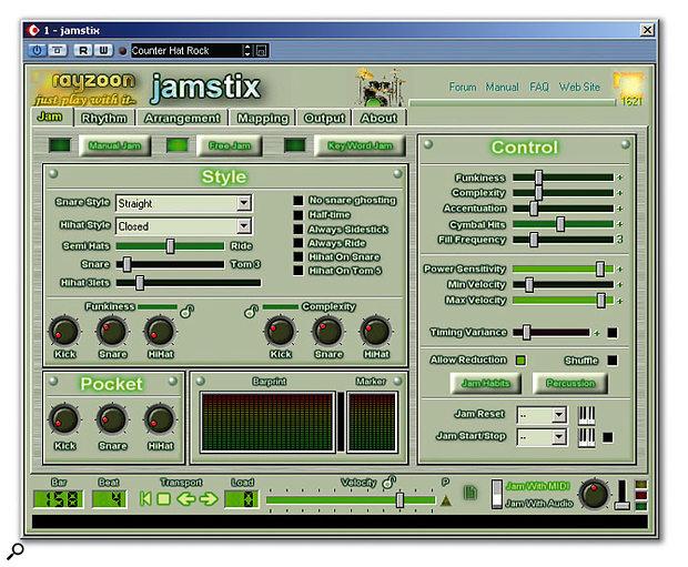 Rayzoon Jamstix