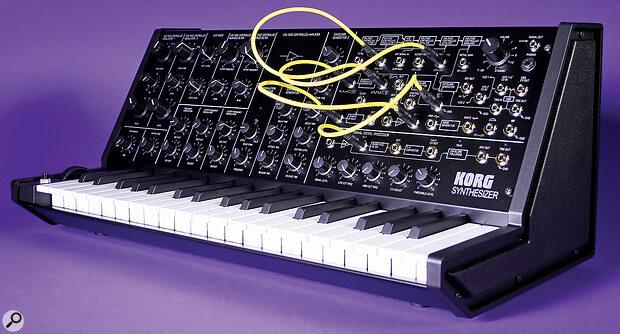 Korg MS20 Mini.
