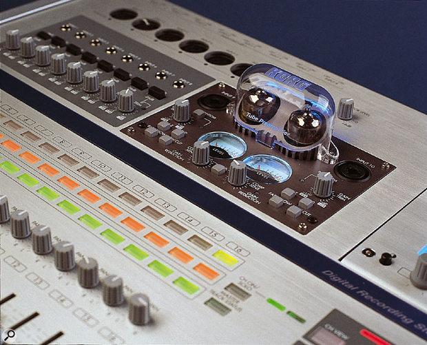The TPB2 version installed in Korg's D16XD digital multitracker.