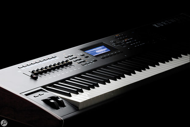 Kurzweil PC3K8 synthesiser.