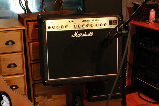 Placing your guitar's amp on a chair or stand to raise it off the floor will change the recording, because of the different way the sonic reflections combine with the direct sound.