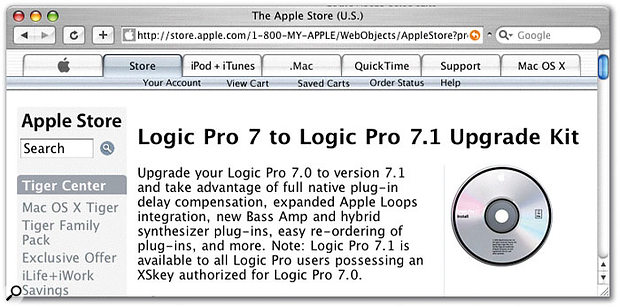 What does Logic v7.1 offer?