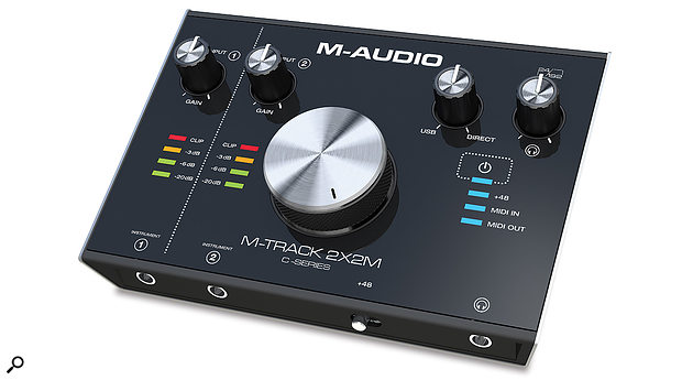 M-Audio M-Track 2X2M & M-Track 2X2