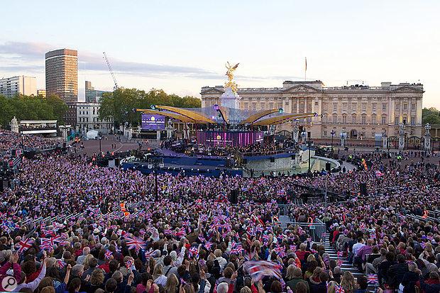 Queens Jubilee celebration concert.