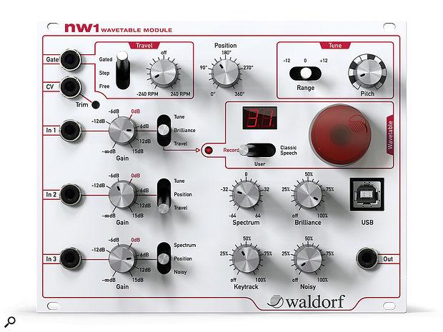 Waldorf NW1 Wavetable ModuleEurorack Module