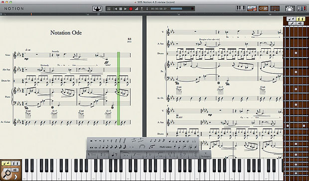 Notion Music Notion 4.
