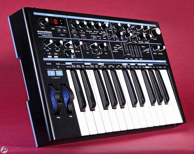 Novation Bass Station 2 synthesizer.