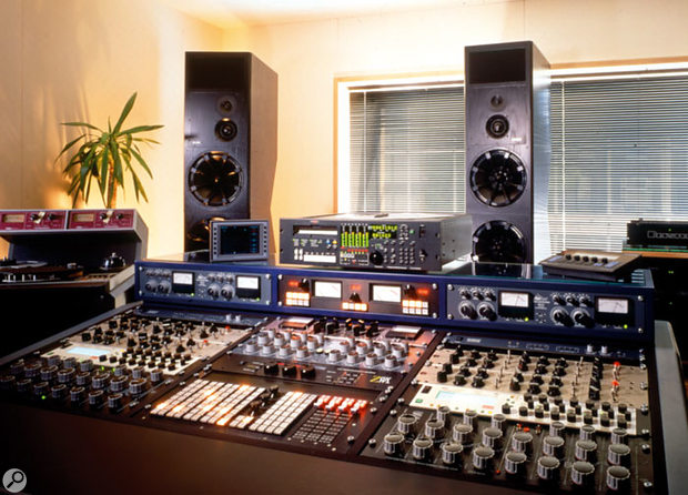 One of the mastering studios at Metropolis, in West London, as used by their iMastering service.