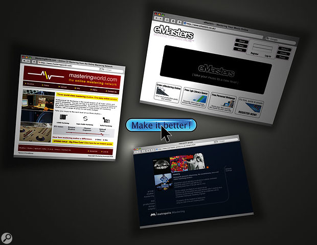 On-line Mastering Services Shootout!