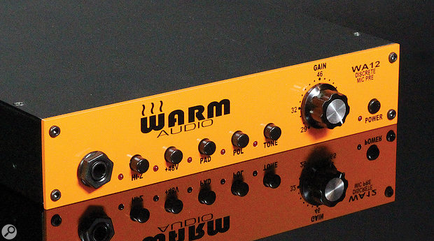 Warm Audio WA12 mic preamp.