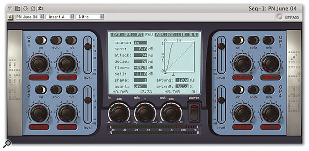 King of the filters? PSP's new Nitro Audio Unit plug-in sounds fantastic, is easy to use, and has all the programming depth you'll ever need.