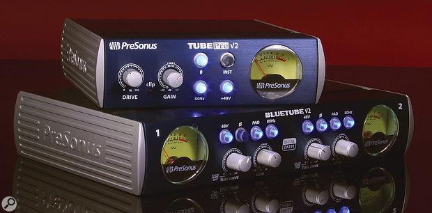 PreSonus BlueTube DP V2 & TubePre V2.