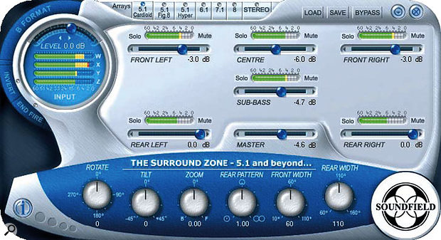B-Format signals from the Soundfield mic can now be decoded directly within Pro Tools thanks to Soundfield's plug-in.