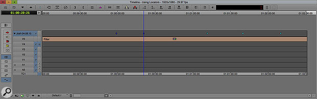 Avid's Media Composer already has sophisticated marker functions, which would be very welcome in Pro Tools.