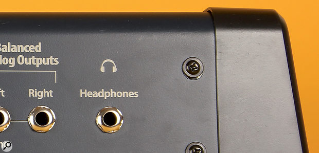 If your keyboard has speakers you wish to disable while monitoring to the line outputs, then putting an unconnected jack plug in the headphone socket is a harmless means of muting them.