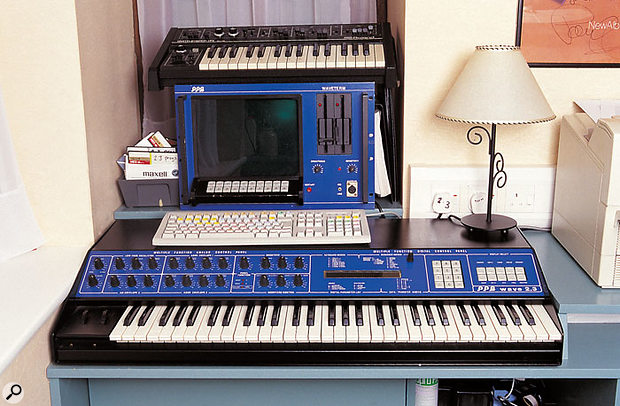 The PPG Wave wavetable synthesizer. This one belongs to synth programmer, engineer and producer Nigel Bates.