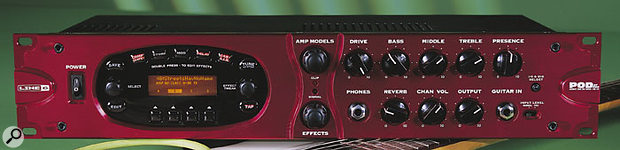 The Line 6 Pod XT Pro has S/PDIF and AES-EBU inputs and outputs for interfacing with other digital gear.