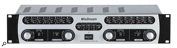 SPL's brand new Mix Dream is designed as an external analogue mix buss for digital systems.