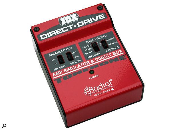 Radial ToneBone JDX Direct Drive Guitar Amp Simulator DI Unit