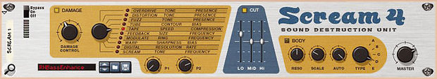 The settings for a quick Scream 4 bass enhancer patch: we'll look at using this versatile device for mix processing in future.