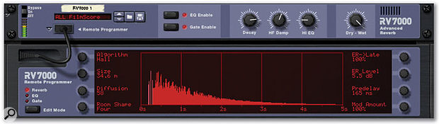 RV7000 is a major step forward when it comes to Reason effects: most people would pay good money to access this sophisticated effect as a stand-alone product.