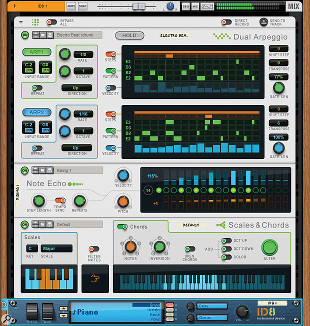 The new Players are, in effect, MIDI plug-ins.