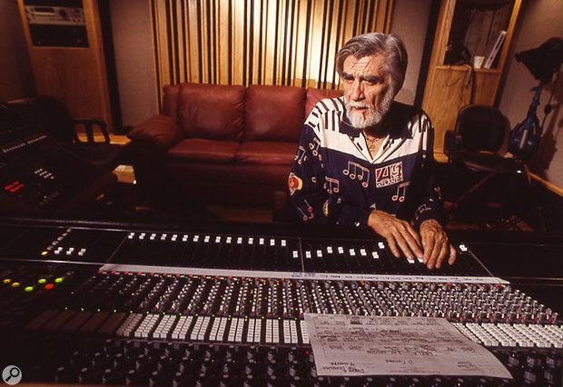 Tom Dowd mixing Derek & The Dominos' 'Layla'.