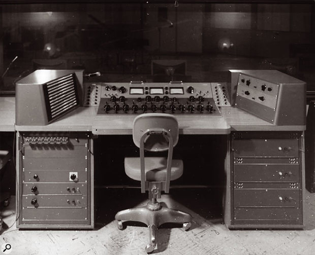 Another of Bill Putnam's mixing desks.