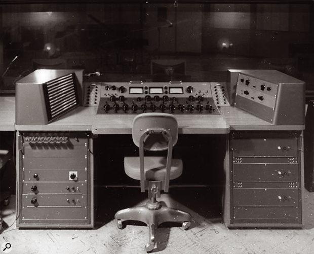 Another of Bill Putnam's mixing desks.