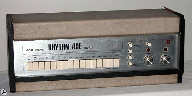 Ace Electronics' successful FR1 Rhythm Ace.
