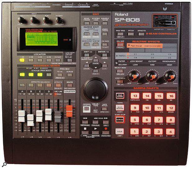 1998's SP808 sampling workstation.