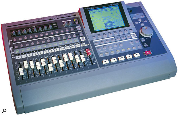 The mighty VS1680 multitrack recording workstation, the first really serious VS recorder.