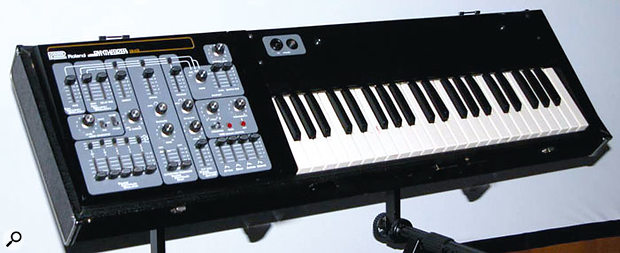 The Roland SH3. Any resemblance to the Ace Tone SH3 is purely coincidental... or is it?
