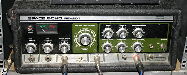 The famous RE201 Space Echo tape-based delay.