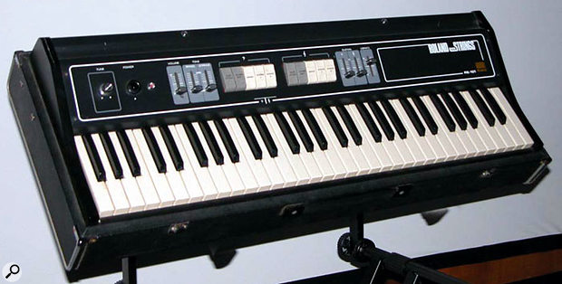 The sadly under-appreciated RS101 ensemble keyboard. It might have been a leap forward for keyboard-based string sounds, but the mid-'70s synth-buying market didn't notice.