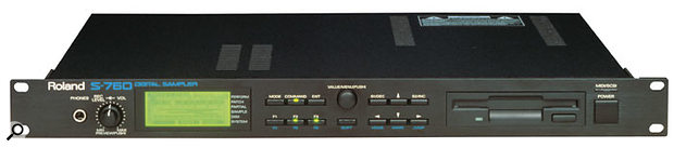 S760 sampler.