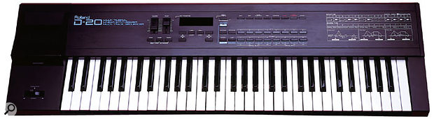 The D20 was overshadowed by Korg's M1, released the same year, but spec-wise it was just as capable a workstation synth. It was probably the M1's superior presets that carried the day.