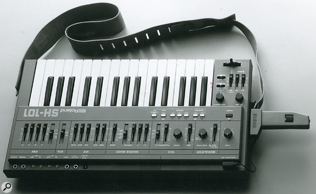 Synth players everywhere slung it around their necks and used it for axe-replacement therapy, while others noodled one-finger Vince Clarke knock-offs on it in their bedrooms. 1981's SH101 monosynth was an instant classic, and is still popular today.