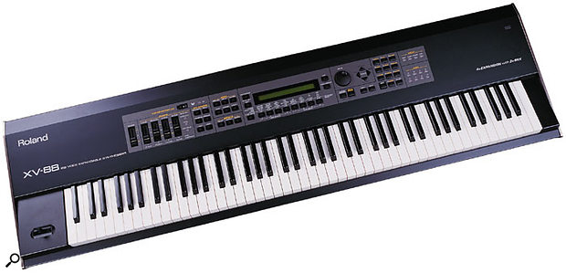 The XV88 was a lovely keyboard, but it's not clear why it housed the synth engine of the cut-down XV3080, and not that of the top-of-the-range XV5080.