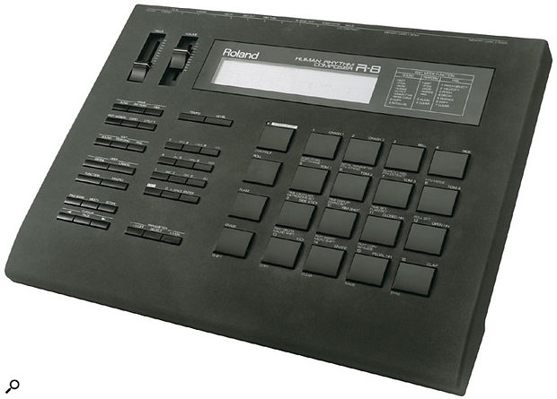With its repitchable drum samples and an decent-sized LCD (which made making rhythm programming using the established Roland pattern-based method even easier), the R8 and its smaller brother the R5 remain two of Roland's finest ever dedicated drum machines.