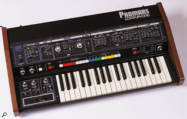 The Compuphonic partner to the Jupiter 4, the MRS2 Promars.