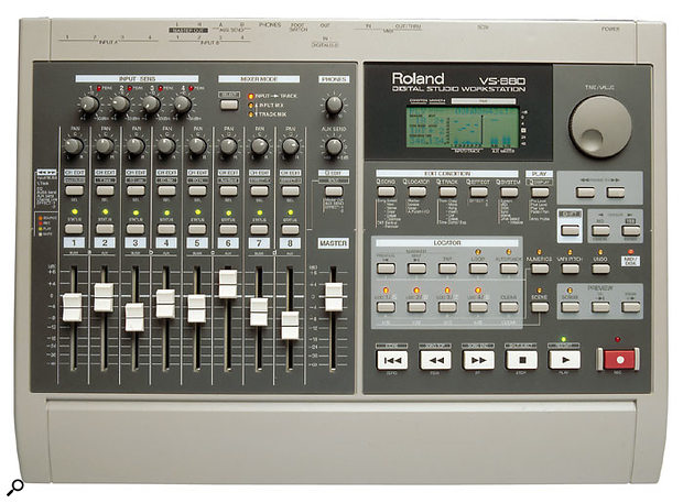 It wasn't the first compact digital multitracker, but it was the first really good one, combining random-access digital recording, advanced COSM effects, and digital mixing facilities in one sub-£1500 product.