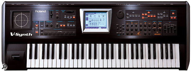 One of Roland's most striking synthesizers ever, the V-Synth — effectively a Variphrase synth — was a bold return to form.