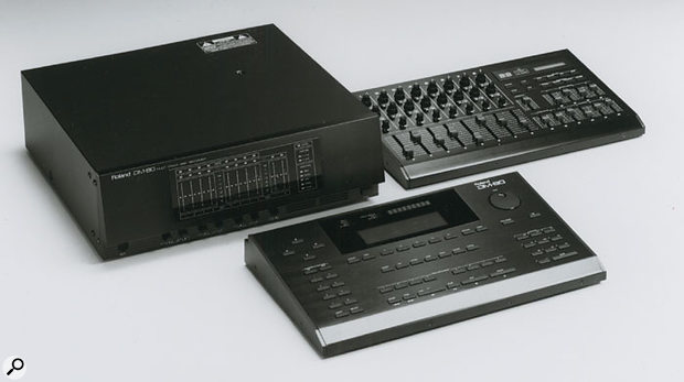 Digital recording technology was changing and becoming cheaper at a frantic rate in the early '90s, rendering many products obsolete overnight. The DM80, at around £10,000 for a fully equipped system, was a third the price of many existing systems of a similar spec. Just four years later, Roland's own similarly equipped VS880 cost less than a sixth that of the DM80.