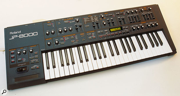 The JP8000 wasn't quite the 'Digital Jupiter' the synth fraternity had been waiting for, but it was a sufficiently impressive physical modelling synth that many of them remain in use today, eight years on.