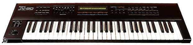The JV80, the first of the massively successful JV synth range.