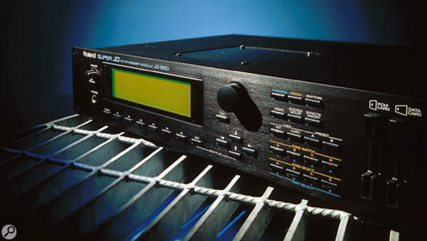 The JD990 was Roland's best sample-and-synthesis sound module ever in 1993, but Roland were on such a roll in the early '90s that it was surpassed just one year later by the JV1080.