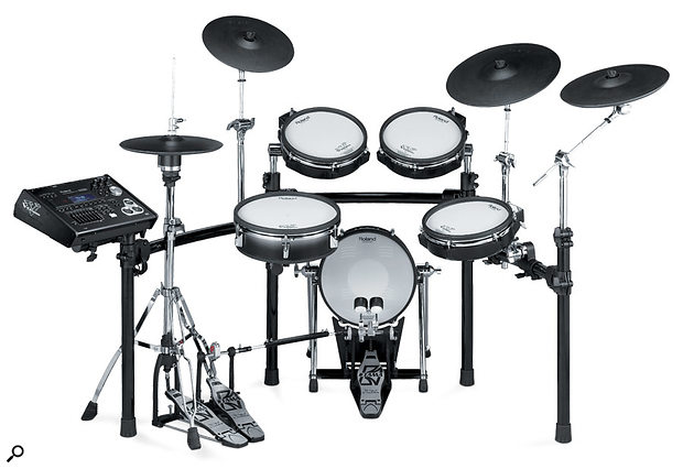 Roland TD30K electronic drum kit.